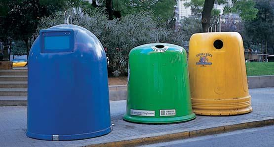 Parece papel pero no lo es conserva tu planeta - Contenedores de basura para reciclaje ...