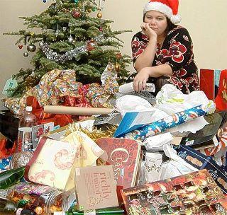 Basura en Navidades