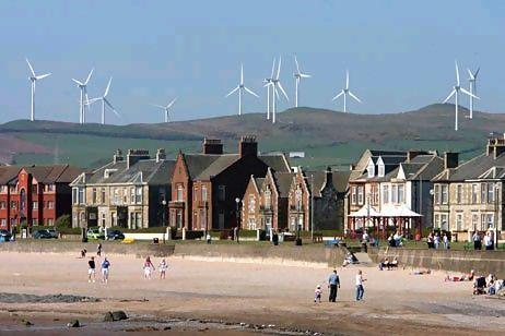 Energía renovable en Escocia
