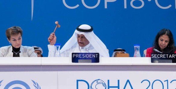 Abdullah Bin Hamad Al-Attiyah, presidente de COP18/CMP8