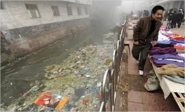 Contaminación acuífera en China