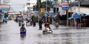 Inundaciones en Asia