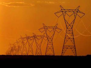 Red de transmisión eléctrica