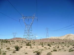 Red de transmisión en California