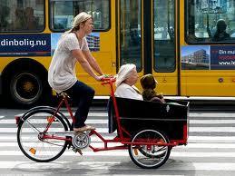 Copenhague en bici