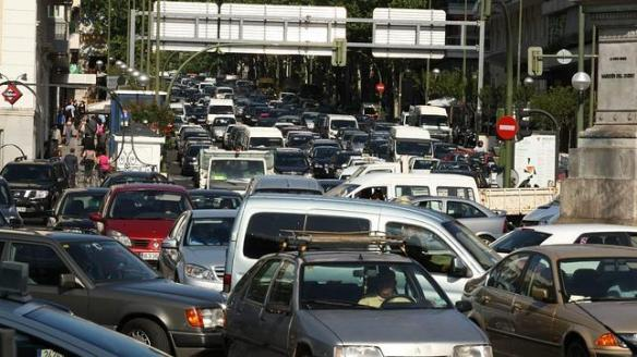 Tráfico, causa principal de  contaminación acústica