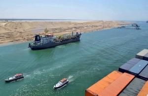 Ampliación Canal de Suez, fotografía de noticiaslogisticaytransporte.com