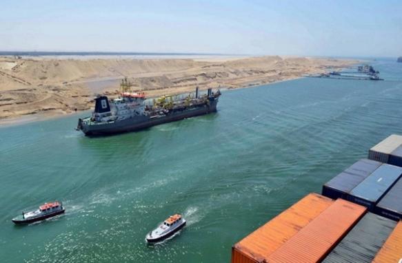 Ampliación del Canal de Suez, fotografía de noticiaslogisticaytransporte.com