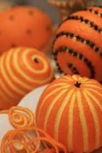 Naranjas con clavo
