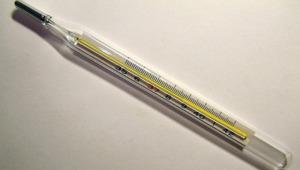 Mercurio de termómetro