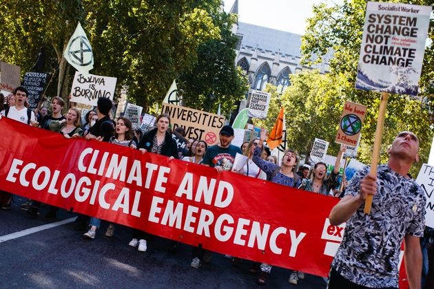 Extinction Rebellion en Londres